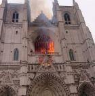 Nantes :unincendie s'est déclaréà lacathédrale