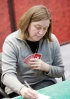 Une Nantaise remporte l'argent avec l'�quipe de France de bridge