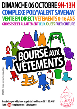 Bourse vêtements