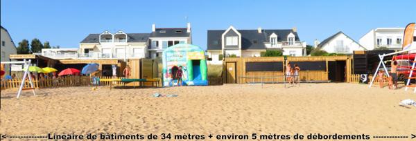 pornichet un recours contre le permis du club de plage belair. Black Bedroom Furniture Sets. Home Design Ideas