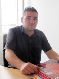 Cédric Turcas délégué CGT à Pornichet