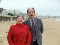 Françoise Cabon et Lionel Morice
