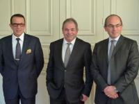 Pierre Margana, Jean Claude Pelleteur, Fabrice Paire