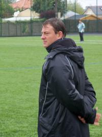 L'entraîneur de Pornichet Sébastien Bizollon.