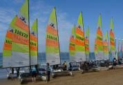 Le yagga club orgaise le national de Hobie Cat - photo : http://www.yagga-voile-pornichet.com