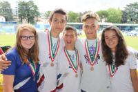 Les 5 jeunes médaillés