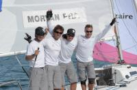 Morvan et son équipage ont bien mérité leur succès