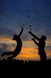 Chorégraphie jonglée