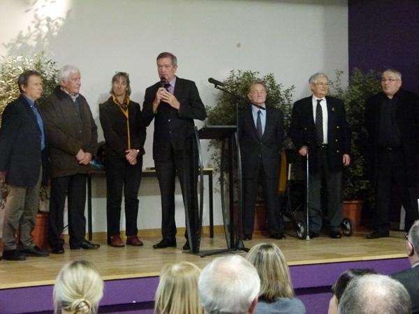 Jean-Yves Chauve, Philippe Bocquel, Isabelle Marrié, Robert Belliot,François Valls,Jacques Herson, Robert Lepage