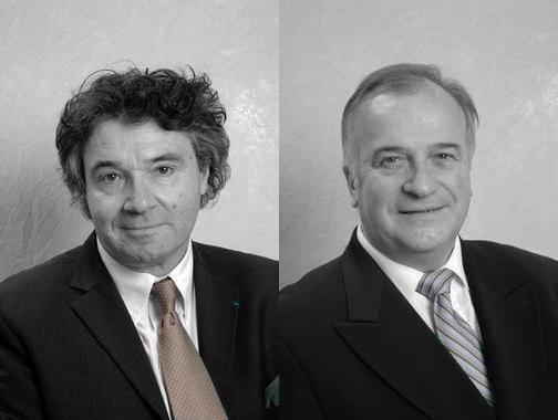 Les 2 adjoints de La Baule Pierre Sastre et Gatien Meunier