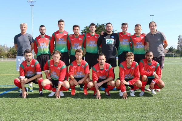 L'équipe seniors de l'ESP
