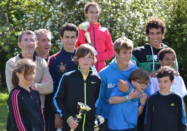 L'équipe des 15/16 ans du Ninon Tennis Club