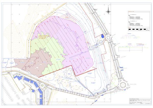 Plan de dragage prévu pour le port d'échouage de Pornichet
