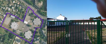 École Jean Macé avec ses espaces verts et ses aires de jeux / Nouvelle école Gambetta