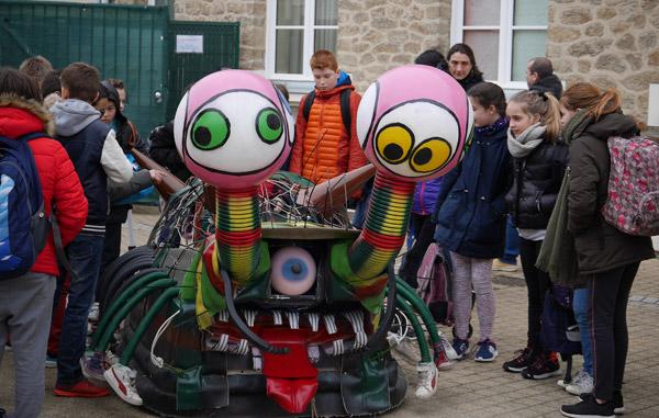 Carnaval Pornichet Char école Gambetta