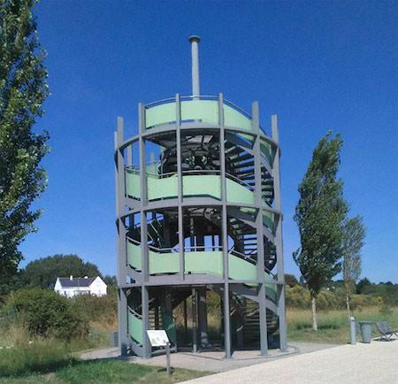 Pornichet observatoire du parc paysager