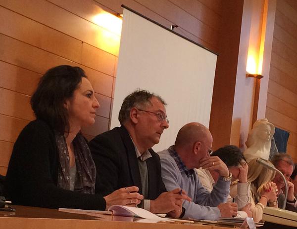 Dominique Berthelier Frédéric Trichet ont rejoint l'opposition municipale et Robert Belliot