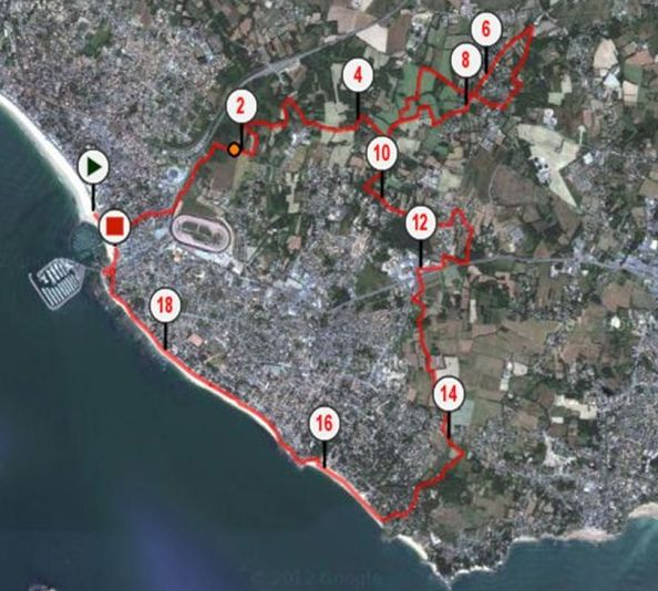 plan 19,5 km