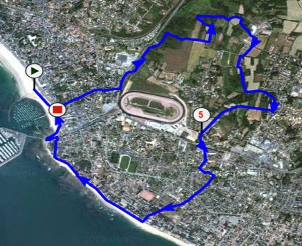 Plan 8 km