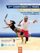 Les 8e Championnats de France de Beach Tennis 2016  auront lieu les 9 et 11 septembre à Pornichet