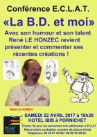 Pornichet: ECLAT reçoit René LE HONZEC