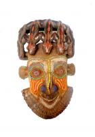 Pornichet: une très belle exposition unique de masques perlés bamilékés