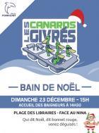 Pour Noël, les Canard Givrés vont se baigner à Pornichet