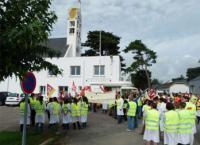 Déjà en juin 2017 le personnel d'EPMS en grève avait inventé le gilet jaune
