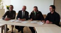 Signature de la convention entre la Ville de Saint-Brevin et la LP0
