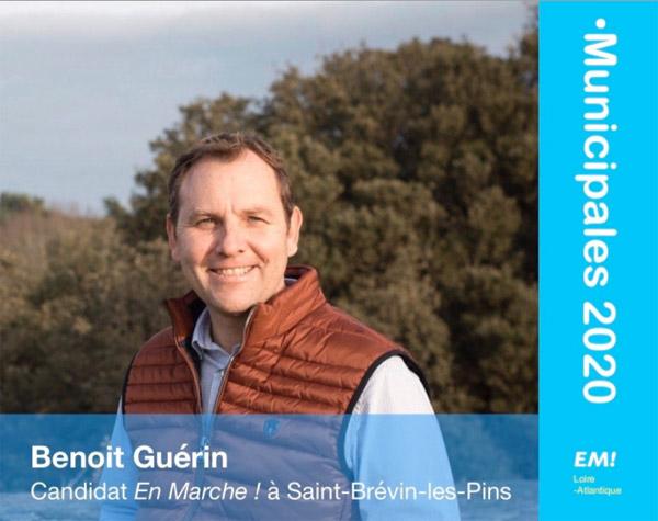 Benoît Guérin Candidat En Marche à Saint-Brevin