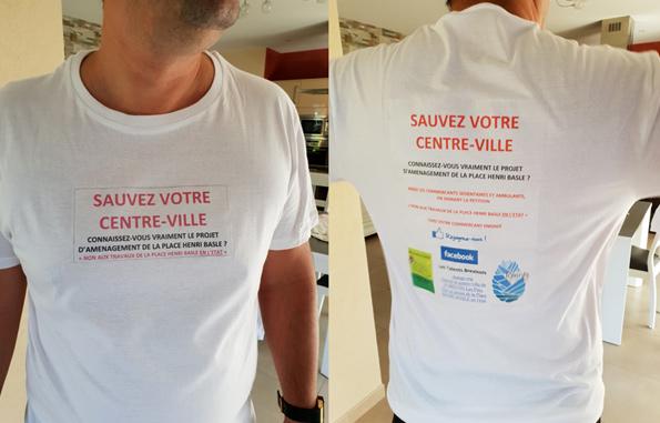 Mobilisation pour le marché de  Saint-Brevin