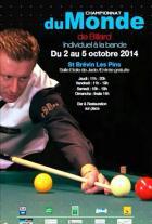 Championnat du monde de billard à Saint-Brevin-les-Pins