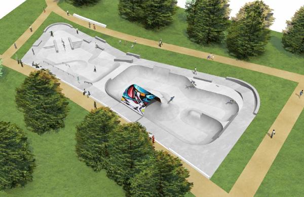 Un full pipe pour le futur skatepark saint nazaire for Piscine st nazaire