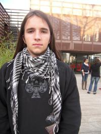 Simon, un des porte-parole du groupe de travail de l'OMJ