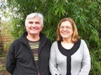 Gilles Denigot et Michèle Viau.