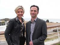 Delphine Lebas et Romain Morand.