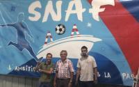Une fresque pour le SNAF - image du site snaf44.fr