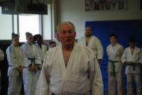 Me Lemoine au milieu de la grande famille du judo nazairien