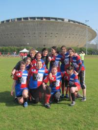 L'équipe de rugby féminine de l'IUT Saint-Nazaire