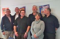 Marc Ménager, Patrice Leroy,Johan Jardin,Christophe Morel,Frédérique Journe, Jean-Pierre Guellec