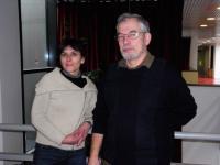 Frédérique Couzigou, suppléante, et Augustin Grosdoy.