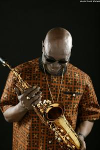 Manu Dibango. Photo Louis Vincent.