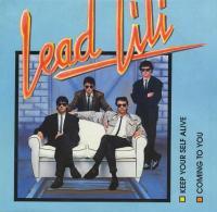 Couverture d'un disque de Lead lili, groupe nazairien de l'Office municipal d'animation culturelle (devenu Saint-Nazaire Associations).
