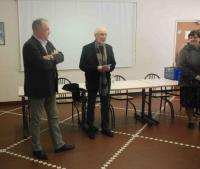 Jean-Michel Talbourdel (à gauche) et Daniel Fleuret. L'un ne se représente pas, l'autre postule pour un ultime mandat