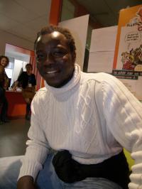 Pamphile Hounsou, animateur socio-culturel à la maison de quartier de la Chesnaie
