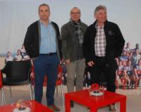 Jean-Luc Mérino, Henri Legland, Joël Moulère (de gauche à droite), un trio solidaire