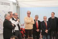 Joël Batteux attentif aux propos d'Henri Legland