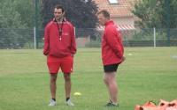 Bertrand Guilloux (à gauche) et Flavien Bosi entament une nouvelle saison côte à côte