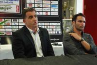 Denis Liébault, le président (à gauche) et Bertrand Guilloux, l'entraîneur, s'estiment dans leur droit