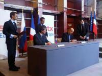 En 2011 Alain Juppé, ministre de la Défense, et Igor Setchine, vice-premier ministre russe signaient l'accord pour quatre BPC en présence du Président Sarkozy